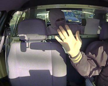 Ladrão Tenta Roubar Taxista Sem Reparar Que o Carro Da Policia Está Atrás Do Táxi 8