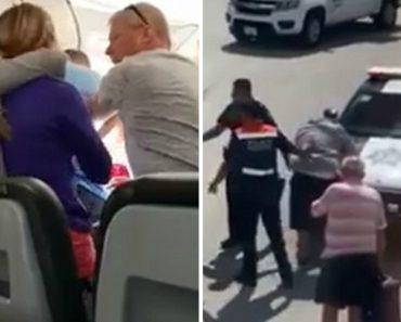 Passageiro Descontrolado Tenta Abrir Porta De Avião Prestes a Descolar 6
