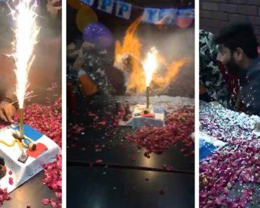 Festa Termina Mal Para Aniversariante Após Usarem Spray De Espuma 7
