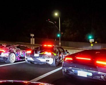 """Grupo De Ricalhaços De Beverly Hills Trazem o Jogo """"Need For Speed"""" Para a Vida Real 1"""