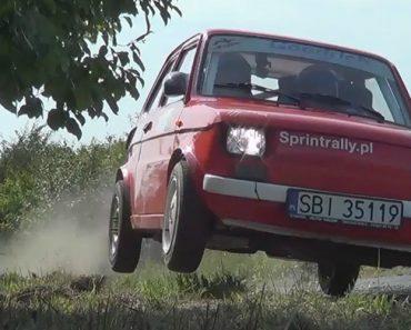 Piloto De Rally Mostra Do Que Um Fiat 126 é Capaz 7