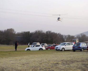 Piloto Escolhe Local Errado Para Iniciar Manobras De Aterragem Com Helicóptero 5