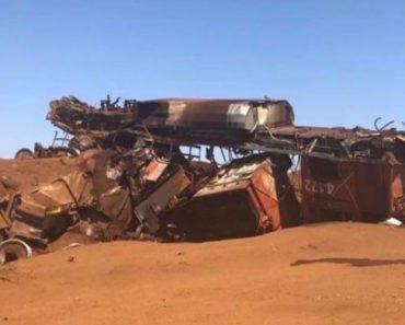 Vídeo Mostra Como Ficou Comboio Que Descarrilou Com 268 Vagões Após Andar 92 Km Sem Maquinista 2