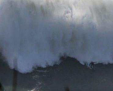 Surfista Passa Por Momentos Complicados Nas Gigantescas Ondas Da Nazaré 3