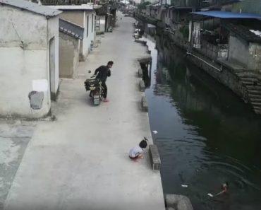 Homem Torna-se Herói Ao Salvar Criança De Se Afogar Após Cair Ao Rio 2