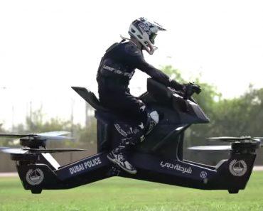 Polícia Do Dubai Já Treina Com Motos Voadoras 1