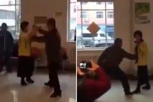 Senhora Protagoniza a Mais Teatral Exibição De Kung-Fu De Sempre 9