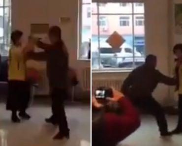 Senhora Protagoniza a Mais Teatral Exibição De Kung-Fu De Sempre 8