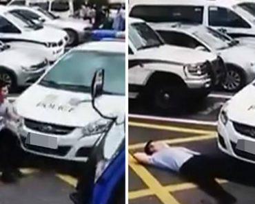 Homem Tenta Vigarizar Polícia Com Infeliz Simulação De Atropelamento 7