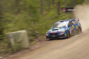 Impressionante Acidente No Rally Da Australia 10