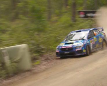 Impressionante Acidente No Rally Da Australia 3