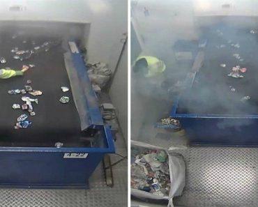 Foguete Rebenta Nas Mãos De Trabalhador Que Separava O Lixo Em Empresa De Reciclagem 1