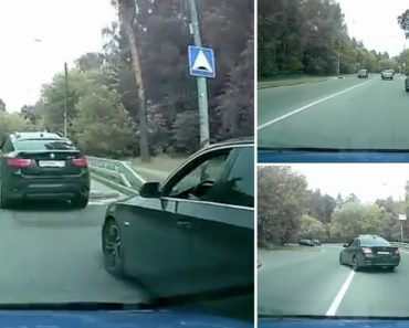 Impaciente Condutor Não Respeita Os Outros Na Estrada e Sofre as Consequências 5