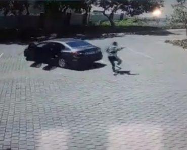 Assaltantes Correm Pela Vida Ao Tentar Roubar o Automobilista Errado 1