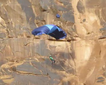 Só Por Milagre é Que Este Salto De Paraquedas Não Acabou Em Tragédia 7