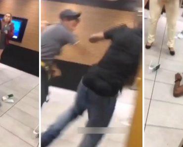 Discussão Em McDonald's Acaba Em Agressões Entre Funcionário e Cliente 6