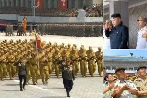 Colocaram Exército Da Coreia Do Norte a Marchar Ao Som Dos Bee Gees e o Resultado é Digno De Ser Visto 9