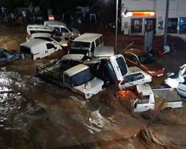Chuva Forte Inunda Cidade Turística Na Turquia 6