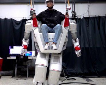 Coreia Do Sul Cria Robô Humanoide Tripulado 1