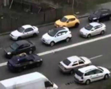 Condutor Encontra Invulgar Alternativa Para Escapar Ao Trânsito 6