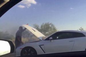 Homem Quis Mostrar a Potência Do Seu Nissan GTR, Mas Acaba Por Rebentar o Motor 10