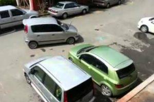 Condutor Farta-se De Esperar Que Dona Do Carro Mal Estacionado Apareça e Toma Medida Drástica 10