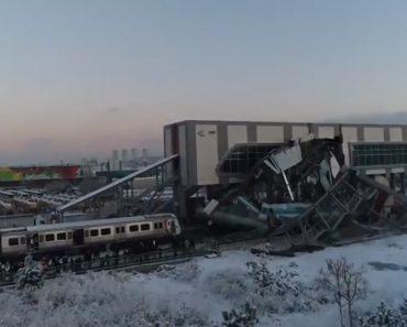 Imagens Mostram Impacto De Acidente De Comboio Na Turquia 2