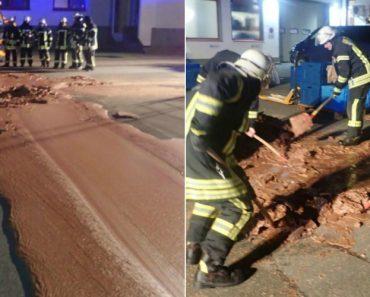 Avaria Em Fábrica De Chocolate Causa Inundação Numa Rua Da Alemanha 7