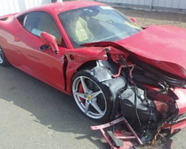 Homem Destrói Ferrari 458 Italia Quando Tentava Impressionar Uma Mulher 4