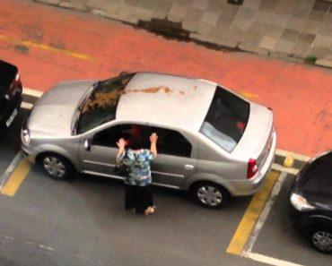 Isto é o Que Acontece a Um Condutor Que Deixa o Carro Mal Estacionado No Brasil 7