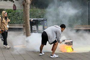 Robot Incendiou-se Em Campus De Universidade Americana 10