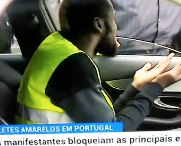 """Capitão Do Boavista """"Obrigado"""" a Vestir Colete Amarelo Para Conseguir Ir Ao Treino 5"""