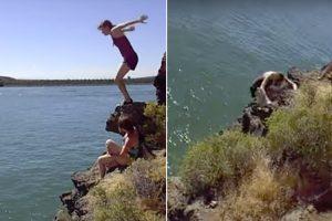 Hesitação De Jovem Em Saltar De Penhasco Quase Acaba Em Tragédia 9