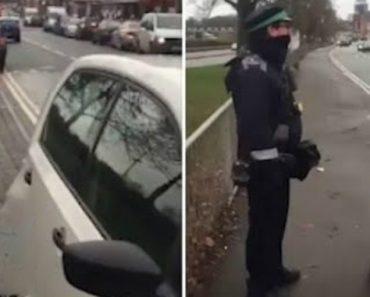 Polícia Em Infração Filmado Em Flagrante 7