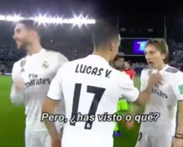"""Lucas Vázquez Para Modric: """"Dá-me a Put* Da Bola, Croata De Mer**"""" 6"""