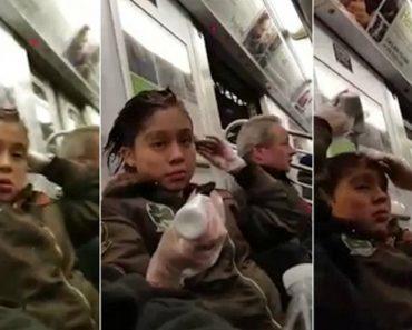 Mulher Com Sentido Prático Aproveita Viagem De Metro Para Pintar o Cabelo 6