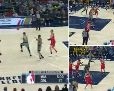 Um Lance Digno Da Liga Dos Últimos Em Pleno Jogo De Estrelas Da NBA 5