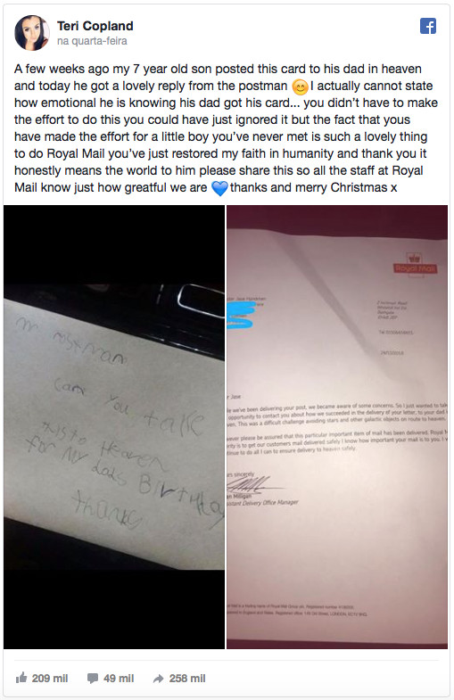 Menino De 7 Anos Escreve Carta Ao Pai Que Faleceu e Recebe Resposta 3