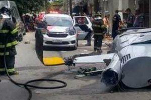 Piloto e Passageiros Sobrevivem a Acidente De Helicóptero Que Provocou a Morte De Um Pedestre 10
