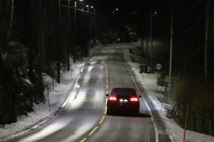 Estas Luzes Da Estrada Na Noruega Adaptam o Seu Brilho De Acordo Com o Tráfego 10