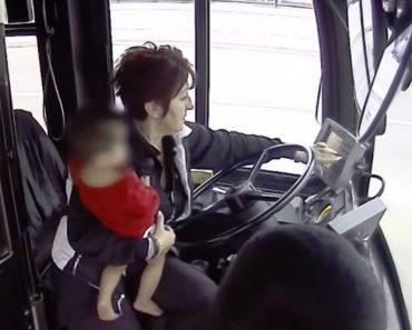 Motorista De Autocarro Salva Menino Perdido Na Rua 9