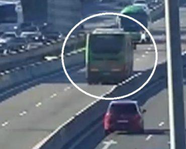 Autocarro Percorre Vários Quilómetros Em Sentido Contrário Em Autoestrada De Madrid 4