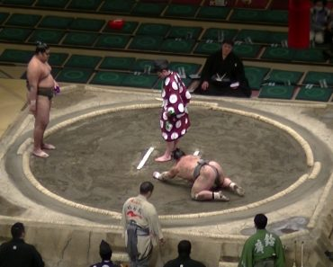 Como Deixar Um Praticante De Sumo KO Em Apenas Um Segundo 3