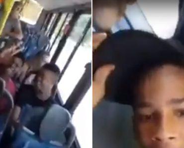 Jovem Grava Vídeo Dentro De Autocarro e Acaba Por Filmar Tiroteio 5