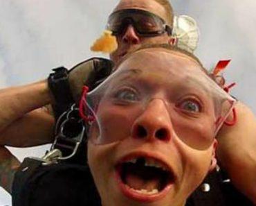 Perda De Dente Durante Salto Em Paraquedas Convence Jovem a Manter a Boca Fechada 6