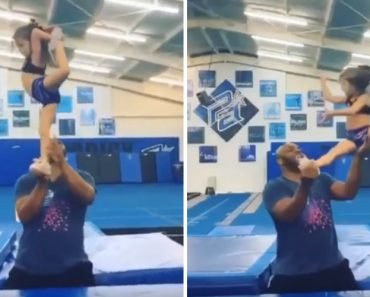Cheerleader Causa Furor Pelo Mundo Fora... e Tem Apenas Quatro Anos 6