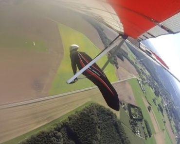 Homem Tem Intensa Experiência Durante Salto De Asa Delta 9