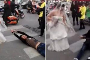 Noiva Arrasta Noivo Acorrentado Pela Rua Por Não Ter Ido Ao Casamento 10