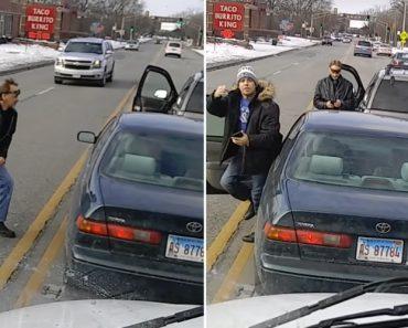 Automobilistas Fazem Parar o Trânsito Para Discutirem 5