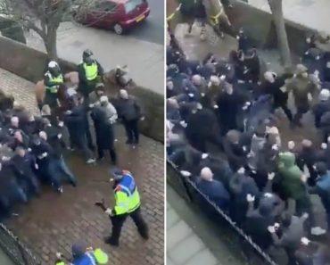 Hooligans De Millwall e Everton Transformam Londres Num Campo De Batalha 6